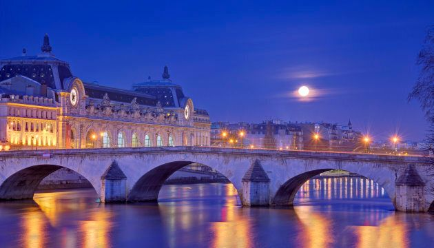 France, Ile-de-France, Paris, Seine River banks listed as World Heritage by UNESCO, musee