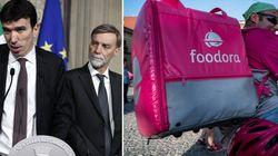 Il Pd chiede tutele per i fattorini di Foodora. Ma nel 2017 bocciò un emendamento dell'opposizione che avrebbe garantito i ri...