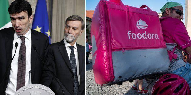 Il Pd chiede tutele per i fattorini di Foodora. Ma nel 2017 bocciò un emendamento dell'opposizione che...