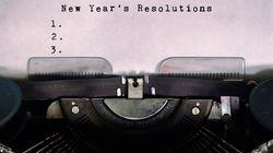 L'anno che vorrei: 12 pensieri per il