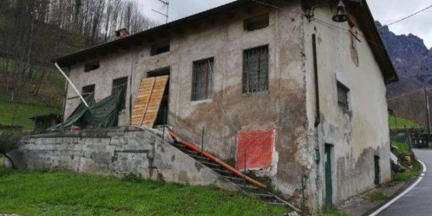 L'abitazione dove è stato rinvenuto