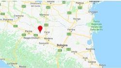 La terra trema a Reggio