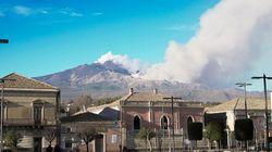 L'Etna sbuffa, sette scosse di terremoto in sette ore nel