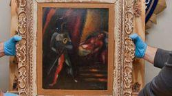 Dopo 30 anni il ricettatore restituisce il dipinto di Chagall rubato: non è riuscito a
