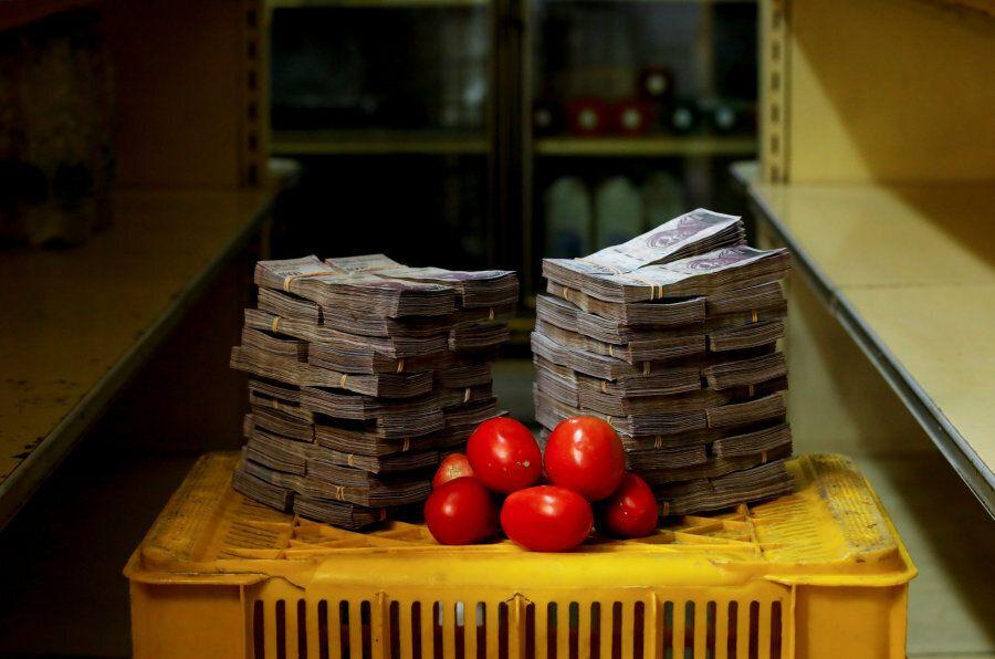 Sono necessari 5 milioni di bolivar (62 centesimi) per un chilo di