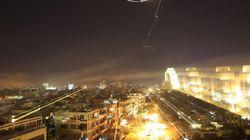 Le immagini delle esplosioni nei video amatoriali e nelle riprese della tv di Stato