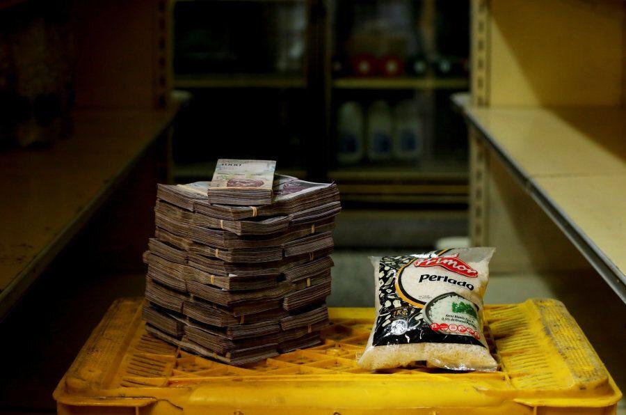 2,5 milioni di bolivar sono necessari per comprare un chilo di