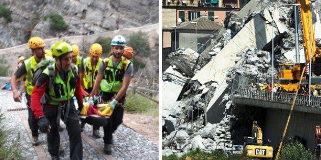 Dal crollo di Genova alla tragedia del Pollino: il napoletano piange le sue vittime di un'estate