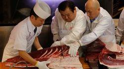 Tonno rosso venduto a 2,7 milioni in Giappone, asta record al mercato del