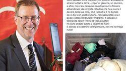 Vicesindaco leghista di Trieste butta le coperte di un senzatetto e si vanta. Poi cancella il