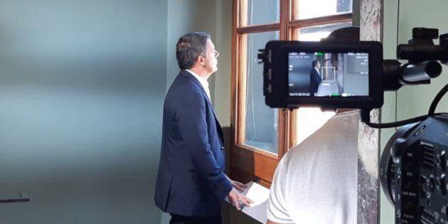 Renzi sul set usa il congiuntivo: