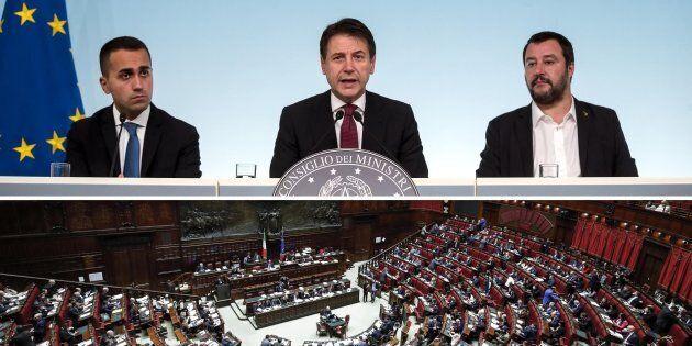 I dati di un Parlamento svuotato: con il Governo Conte, Camera e Senato sempre più inutili e poca trasparenza