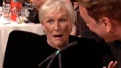 La faccia di Glenn Close ai Golden Globe dice tutto. E il discorso sulla madre è un insegnamento per le