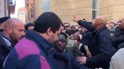 Salvini al venditore ambulante: