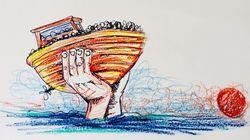 Una nave carica di migranti supera i confini. Il messaggio del comandante della Diciotti a