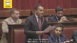Quando Di Maio attaccava Gentiloni: