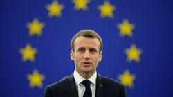 Macron prova a prendere per mano l'Europa in