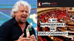 Beppe Grillo vuole rendere pubblica la fedina penale dei