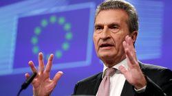 Vi ricordate il commissario Oettinger? Ora minaccia