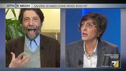 Cacciari attacca Bongiorno in tv: