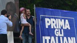 La figlia di Salvini fa il bis: nuova incursione in diretta