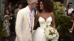 Vincent e Tina sposi in bianco, matrimonio a sorpresa a