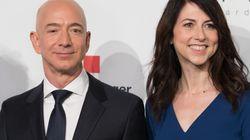 Bezos divorzia dalla moglie. E rischia di perdere il titolo di uomo più ricco del