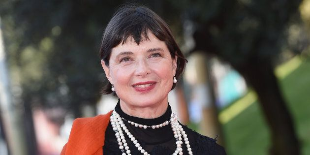 ROME, ITALY - OCTOBER 16: Isabella Rossellini walks the red carpet during the 10th Rome Film Fest at...