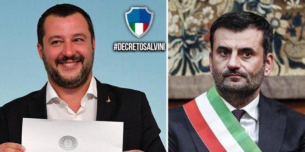 Quattrocento sindaci a favore del Decreto Salvini e contro Decaro: