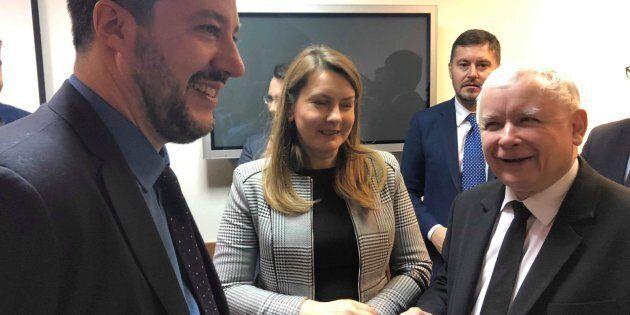 Incontro a Varsavia tra il vicepremier leghista e il presidente del