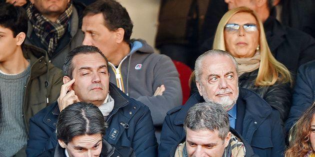 Aurelio De Laurentiis compra pagine sui quotidiani contro Luigi de Magistris: