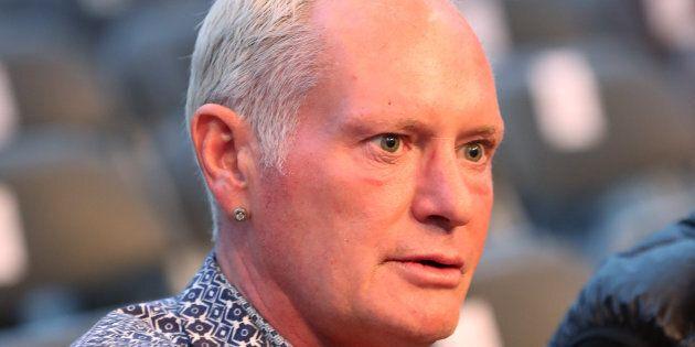 Paul Gascoigne arrestato per molestie mentre viaggiava in