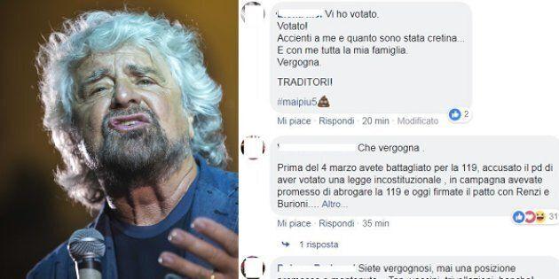 Beppe Grillo - alcuni commenti al