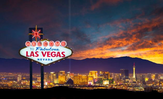 A stock photo of the world famous Las Vegas city