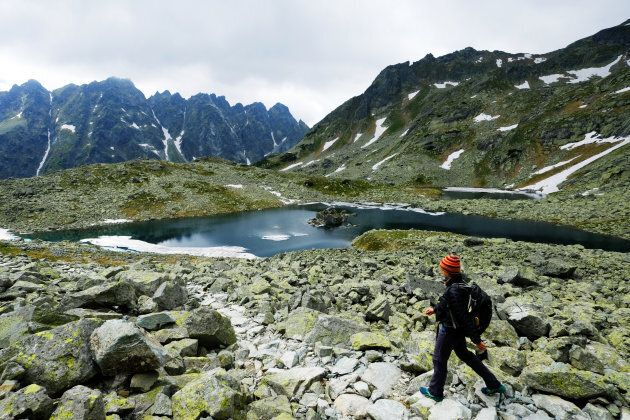 The High Tatras National Park is popular with Czech, Slovak and Polish hikers, skiers and mountaineers....