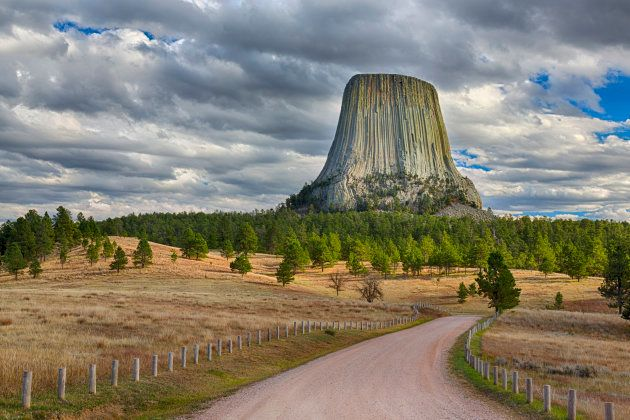 Devils Tower National Monument, Devils Tower, Wyoming,