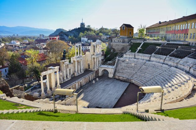 The ancient theatre of Philippopolis is a historical building in the city center of Plovdiv (ancient...
