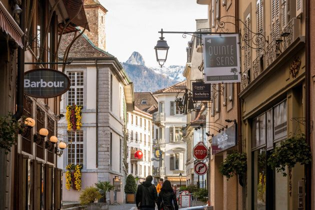 Vevey is a town in Lake Geneva area in