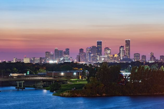 Houston, Texas. View from city