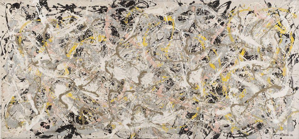 Number 27, 1950 Olio, smalto e pittura di alluminio su tela, 124,6x269,4 cm © Jackson Pollock by SIAE