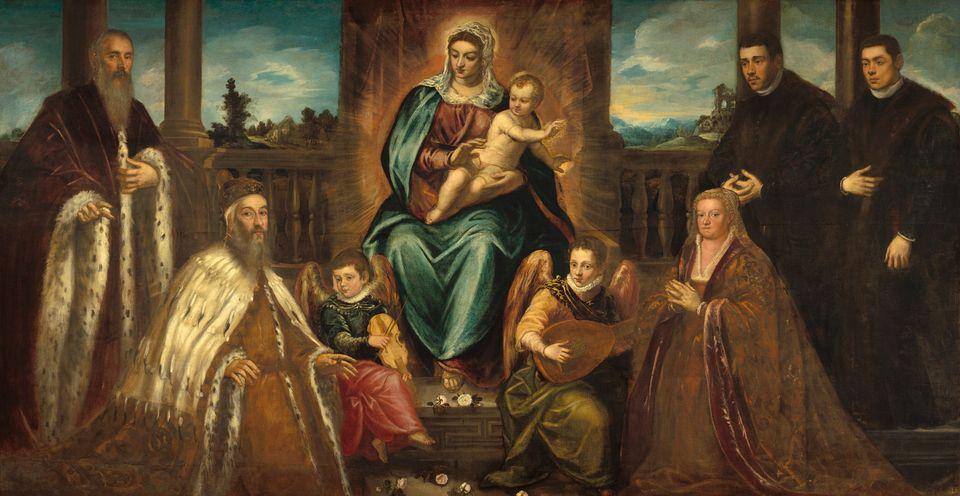 1575 circa, Olio su tela, 216 x 417