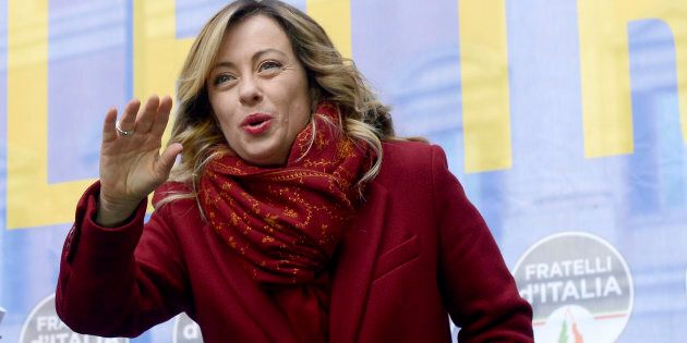 Giorgia Meloni non ha dubbi: