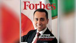 Di Maio su Forbes fotografato da Oliviero Toscani, il fotografo dei