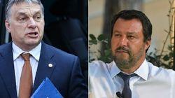 Ong, i centri sociali, la Cgil... prove di sinistra in piazza durante l'incontro tra Salvini e Orban a Milano. I 5 Stelle, di...
