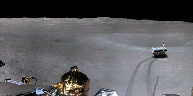 Il lander cinese ha inviato le prime foto del lato nascosto della
