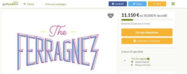 Matrimonio Ferragni-Fedez, la raccolta fondi per le nozze è un flop: solo 23 donatori in un