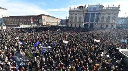 I sì Tav tornano in piazza a Torino: flash mob per sostenere
