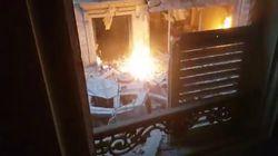 Il video del giornalista di Cartabianca ferito nell'esplosione a