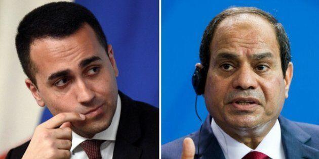 Di Maio va in Egitto, da male assoluto a partner