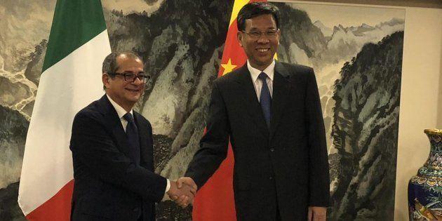 Tria in Cina